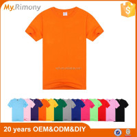 Promotional cheap plain blank 100% cotton t shirts