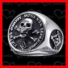 Skull Pattern masonic ring maker