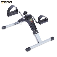 TODO Indoor Mini Bicycle Digital Pedal Leg Arm Exerciser with LCD Display Indoor Activities Gym Exercise
