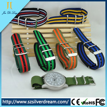 2015 fabric watch straps 24cm spare parts for watches strap