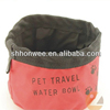 2014 promotion wholesale pet travel water bowl