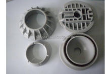 small injection machine part abs injection molded plastic parts