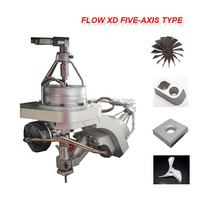 Newest China supply FLOW XD series 5-axis water jet cutting machine