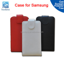 Flip Leather case For Samsung galaxy mega 5.8 Mix color Factory price