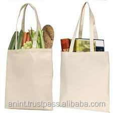 BEST QUALITY CANVAS SHOPPING BAGS 100% COTTON ECHO FRIENDLY