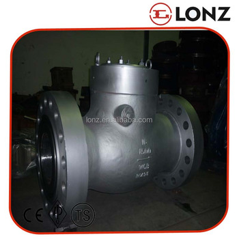 API A216 WCB/316 Stainless Steel Flanged Swing Check Valve 16 Inch