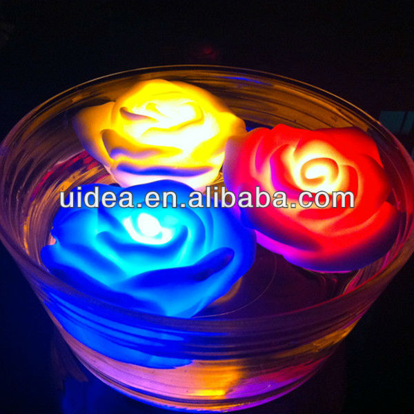 Wholesale LED Colorful Floating Light For Christams