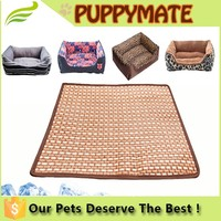 3 Sizes Summer Used Bamboo Pet Dog Cooling Mat comfortable mat