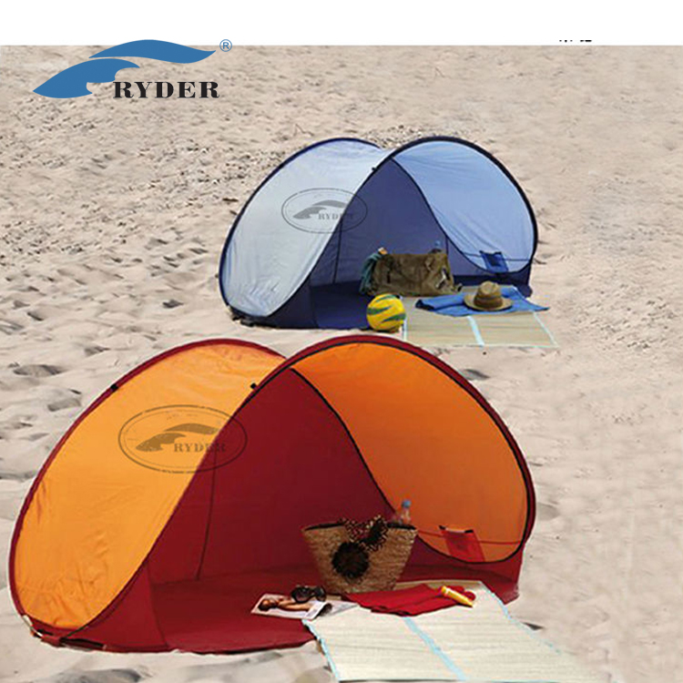 Wholesale Auto Camping Automatic Instant Cheap Beach Sun Shade Tent Pop Up