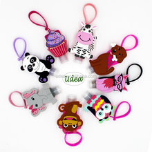 Portable 30ml Silicone Hand Sanitizer Bottle Holder in Animal designs