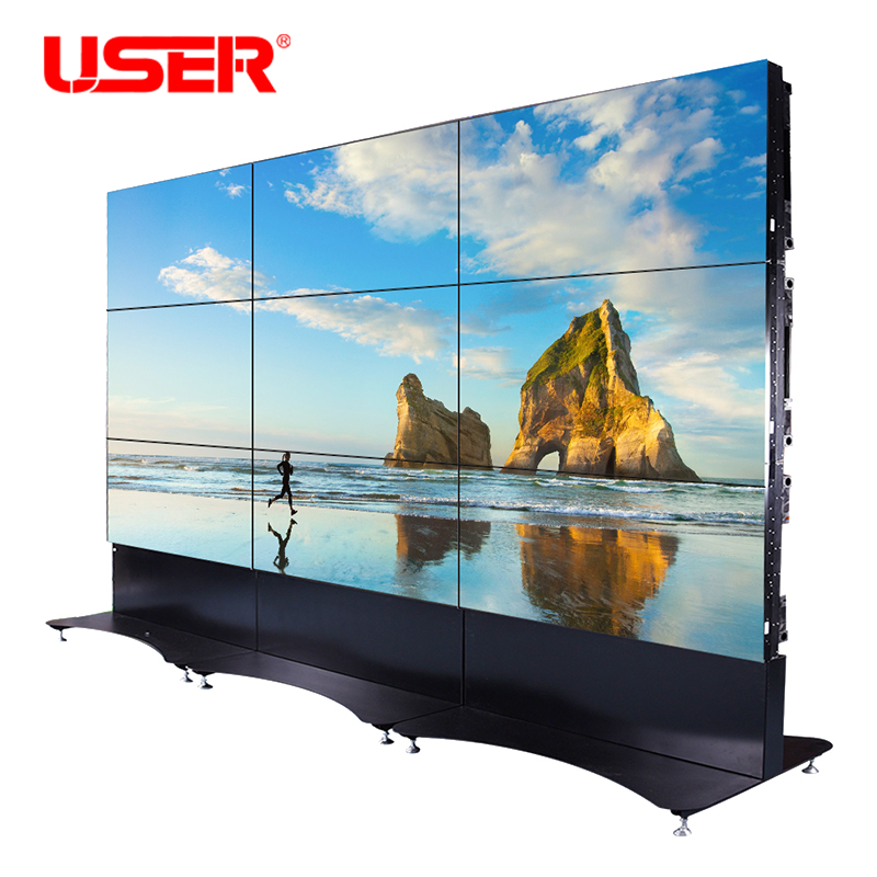 ultra narrow bezel 46 inch lcd video wall,big advertising <strong>screen</strong>