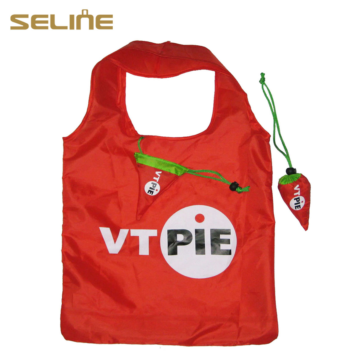 Promotional customized size&logo hot-sale tote bag 210D <strong>nylon</strong>