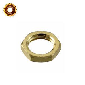 Custom precision machining brass nut