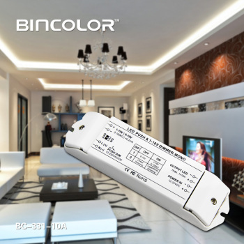 10A LED dimming driver120W 12V Constant Voltage 0-10v dimming led transformer