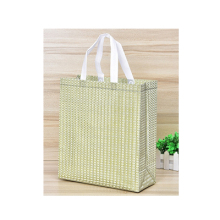 Recyclable multifunctional laminated shopping non woven bag for supermarket