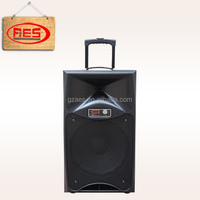 15 inch power subwoofer speaker box wireless portable speaker