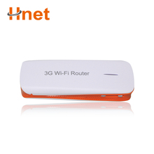 Portable Mobile Hotspot 3G WiFi Modem Wireless Mini USB Router with SIM Card