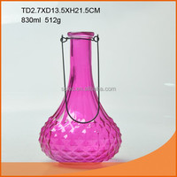 Popular giant colored glass wine bottles/wine bottle