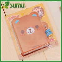 Lovely animal shape chinese cartoon characteristics of notebook