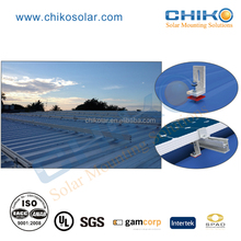 Customized Solar mounting bracket L feet for Metal roof solar power system