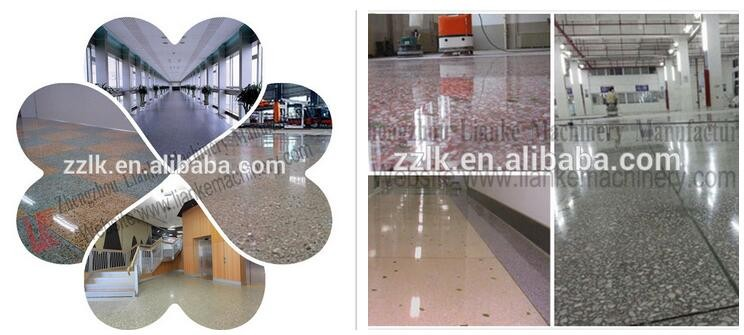 advantages of the tiles produced by the new type cement terrazzo floor tiles machine