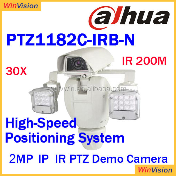 1080P Full and 720P HD excellent image quality 30x IR 200m 2Mp IP IR PTZ Dome Camera PTZ1182C-IRB-N dahua infrared ptz dome came