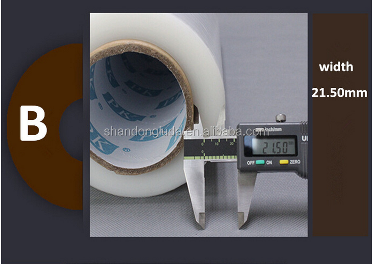 stetch film stretch wrapping good toughness high transperancy plastic lldpe stretch film