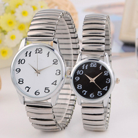 Custom brand stainless steel back watch mesh band couple watch hot sale in France