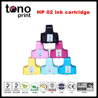 02 , C8721, C8771~C8775 compatible ink cartridge for HP printer hp02