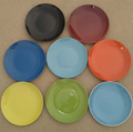 30pcs/ctn 10.5 inch color glazed ceramic dinner plate stock