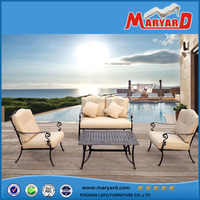 Metal Garden balcony decorating design garden furniture outdoor furniture made in china