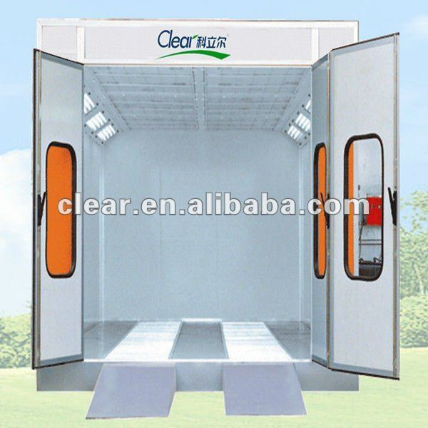 HX-500 EPS wall panel spray paint booth