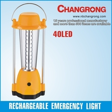led light source solar rechargeable camping lantern
