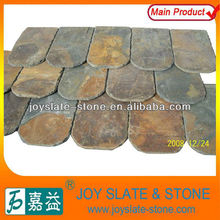 hot selling natural rusty roof slate/roof tile/black slate stone