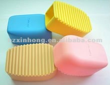 2012 New Eco-friendly Colorful Silicone Cleansing Brushes