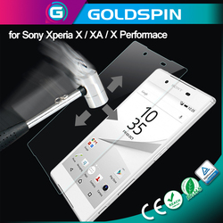 Japan Top Quality remove air bubbles Screen Protector for Sony Xperia X performance