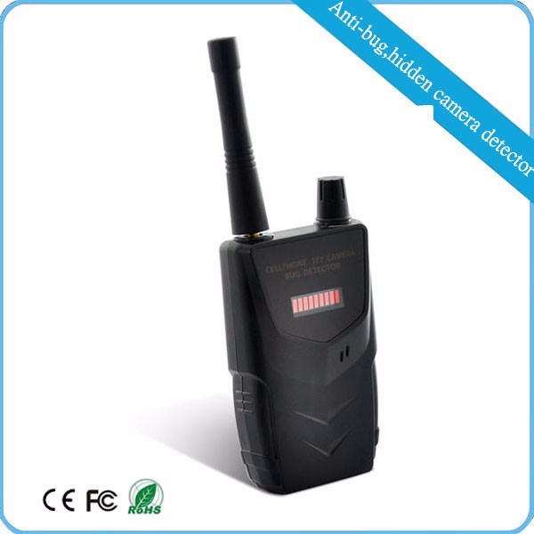 Exclusive providing portable handheld gsm rf hidden espionage camera detector