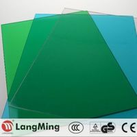 noise barrier 9mm pc solid sheet