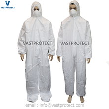 Breathable Lightweight Liquid Proof Protective Painting Coveralls Suit