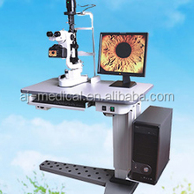 AJ-5D Galilean Parallel Stereoscopic Microscope Digital Slit Lamp Microscope with Electric Table 5 Magnifications CE Approved