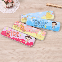 2016 hot sale promotional small metal tin pencil case for kids with low price