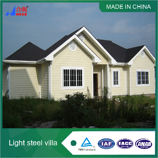 Asia Prefab Modular Bungalow Homes with 3 Bedrooms for Sale