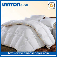 2018 Nature Goose Down comforter with Stitching Design for Luxury Hotel