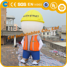 Inflatable worker man , inflatable man statues , inflatable advertising models