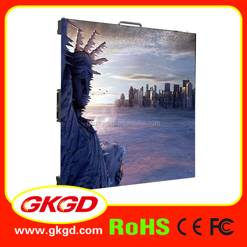 GKGD High quality p2.5 P3 P4 P5 P6 indoor full color led display screen module