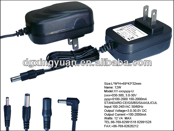 SMPS POWER SUPPLY AC TO DC ADAPTER