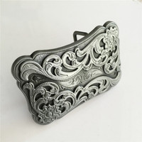 Hot selling High quality Cowboy Metal belt buckles for Fashion men women Jeans accessories fit 4cm Wide Belt