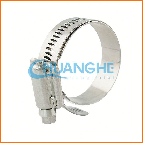 "Hot sale! high quality! 3/4"" steel hose clamp"