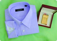 100% cotton men's made to measure shirt