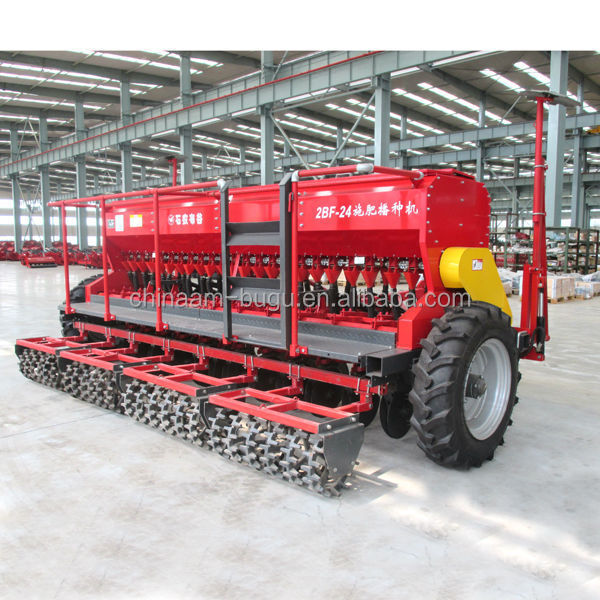 Windproof Double Disc Seed Drill for Sales